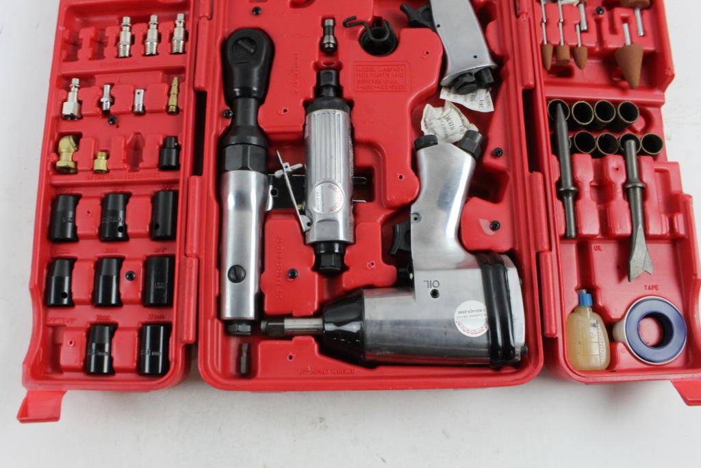 Mastergrip Air Tools And Accessories 35 Pieces