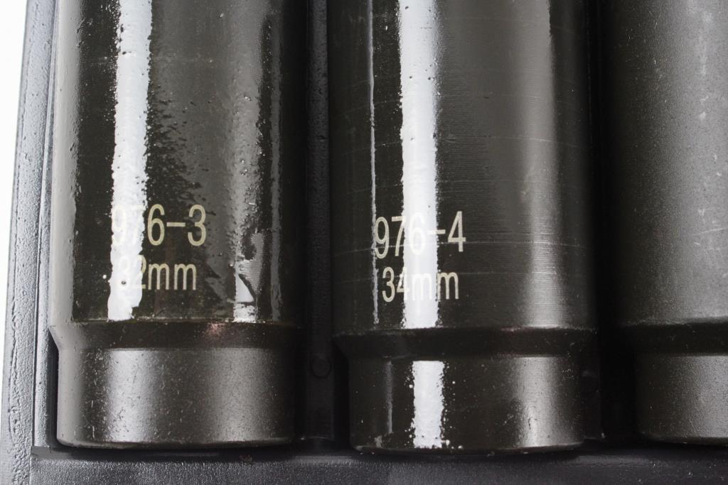 Matco 12 Point Metric Axle Nut Socket Set | Property Room