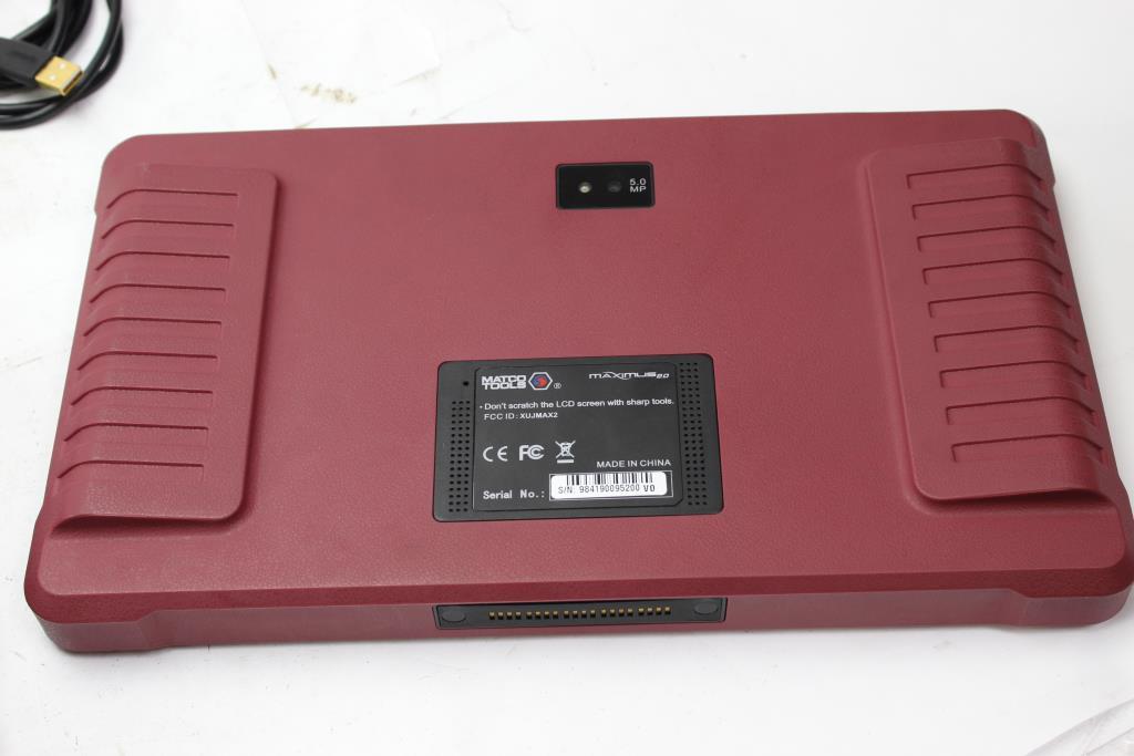Matco Tools Maximus 2 0 Automotive Scanner | Property Room
