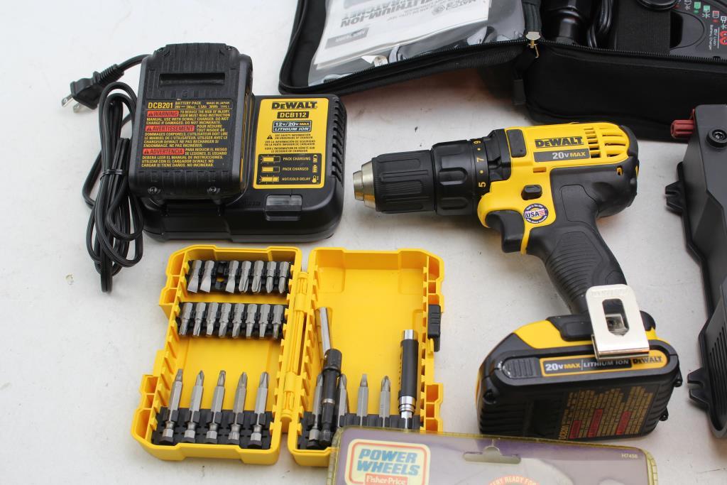 Matco Tools MCL1638R Ratchet, Dewalt DCD780 Drill/Driver, & More
