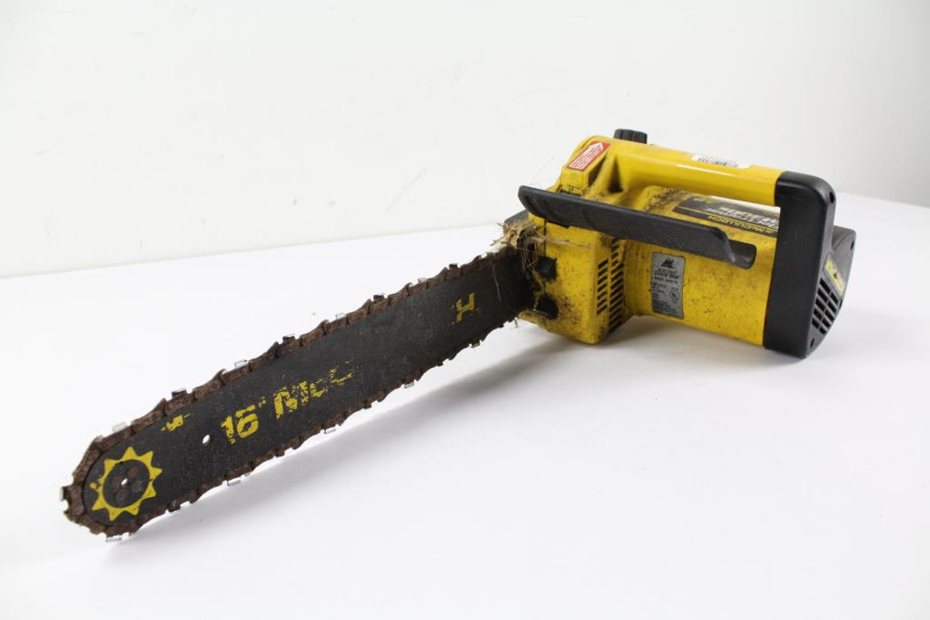 McCulloch EM300s Electramac Chainsaw   Property Room