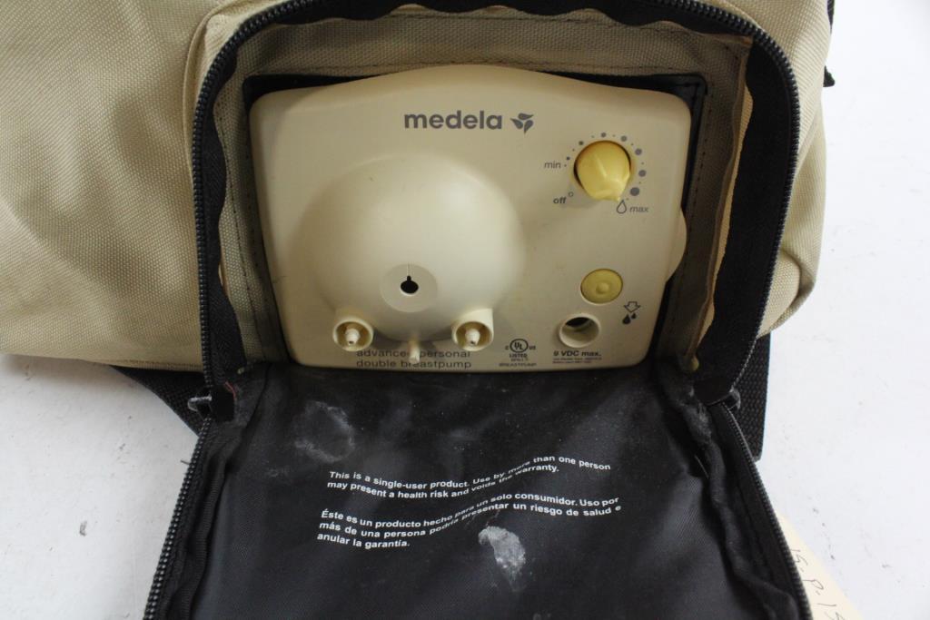 Medela Advanced Personal Double Breastpump Property Room