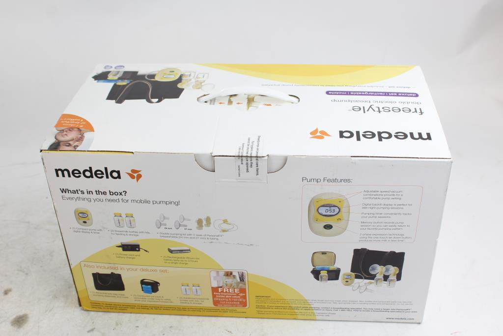 Medela Freestyle Double Electric Breast Pump Property Room
