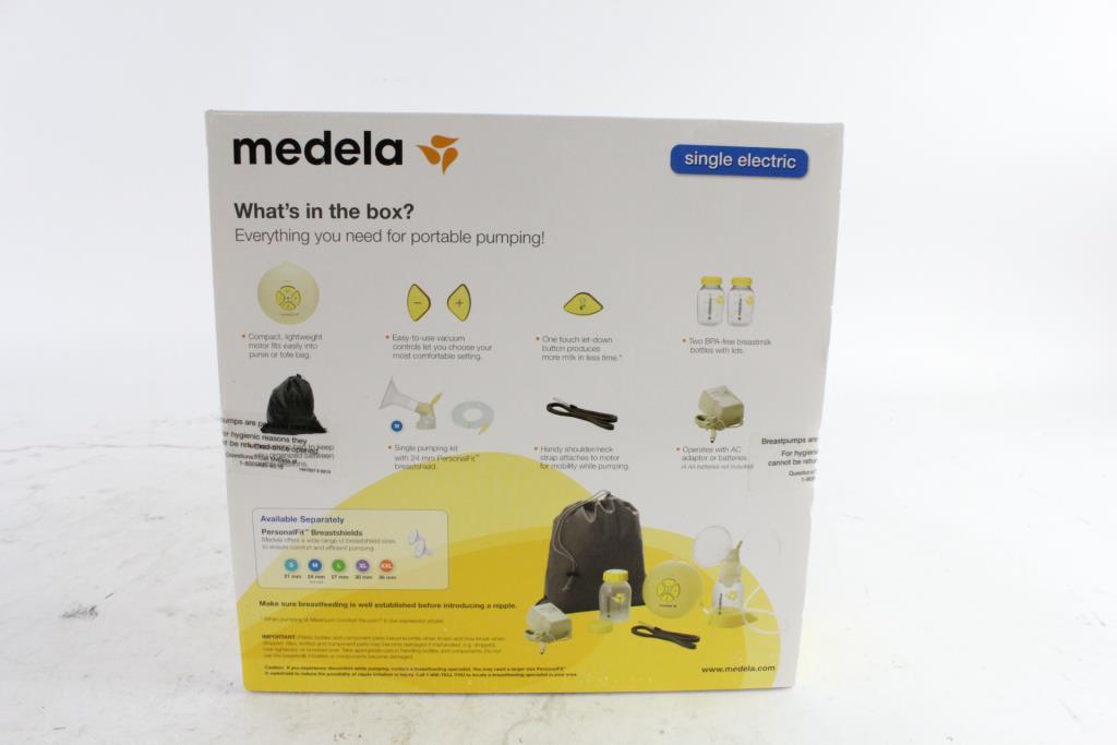 Medela Swing Single Electric Breast Pump Property Room
