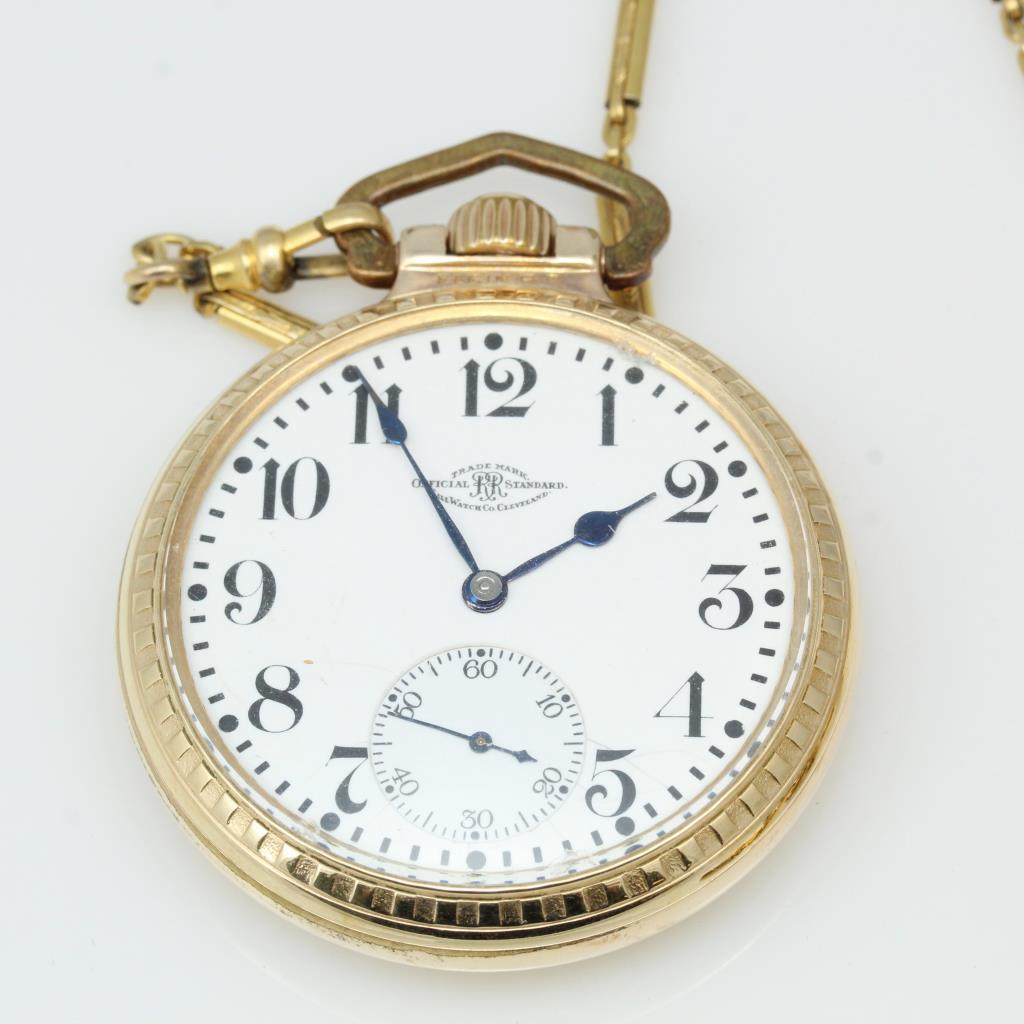Men's Ball Watch Co. Railroad Standard Pocket Watch ...