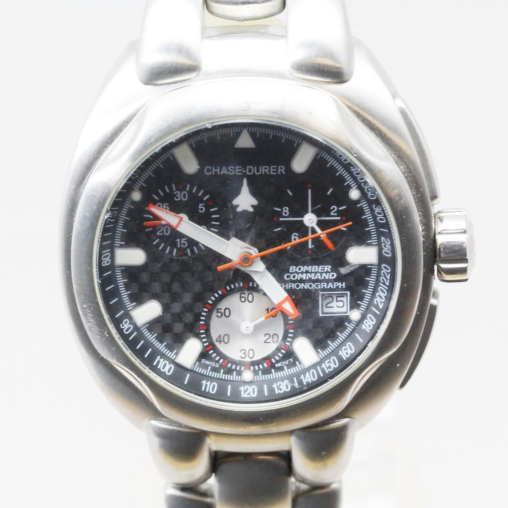 Men's Chase-Durer Bomber Command Chrono Watch - Evaluated By Independent  Specialist