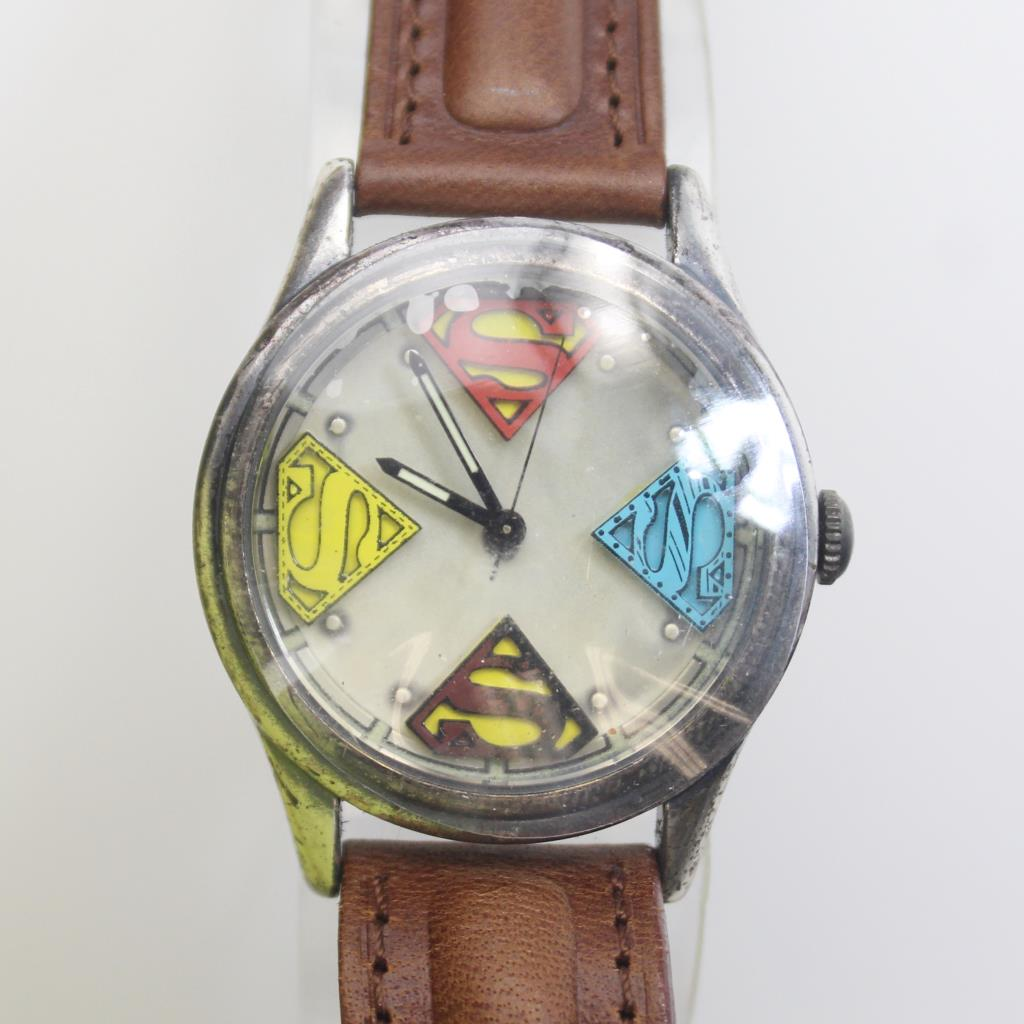 Mens fossil superman limited edition watch in box property room mens fossil superman limited edition watch in box freerunsca Choice Image