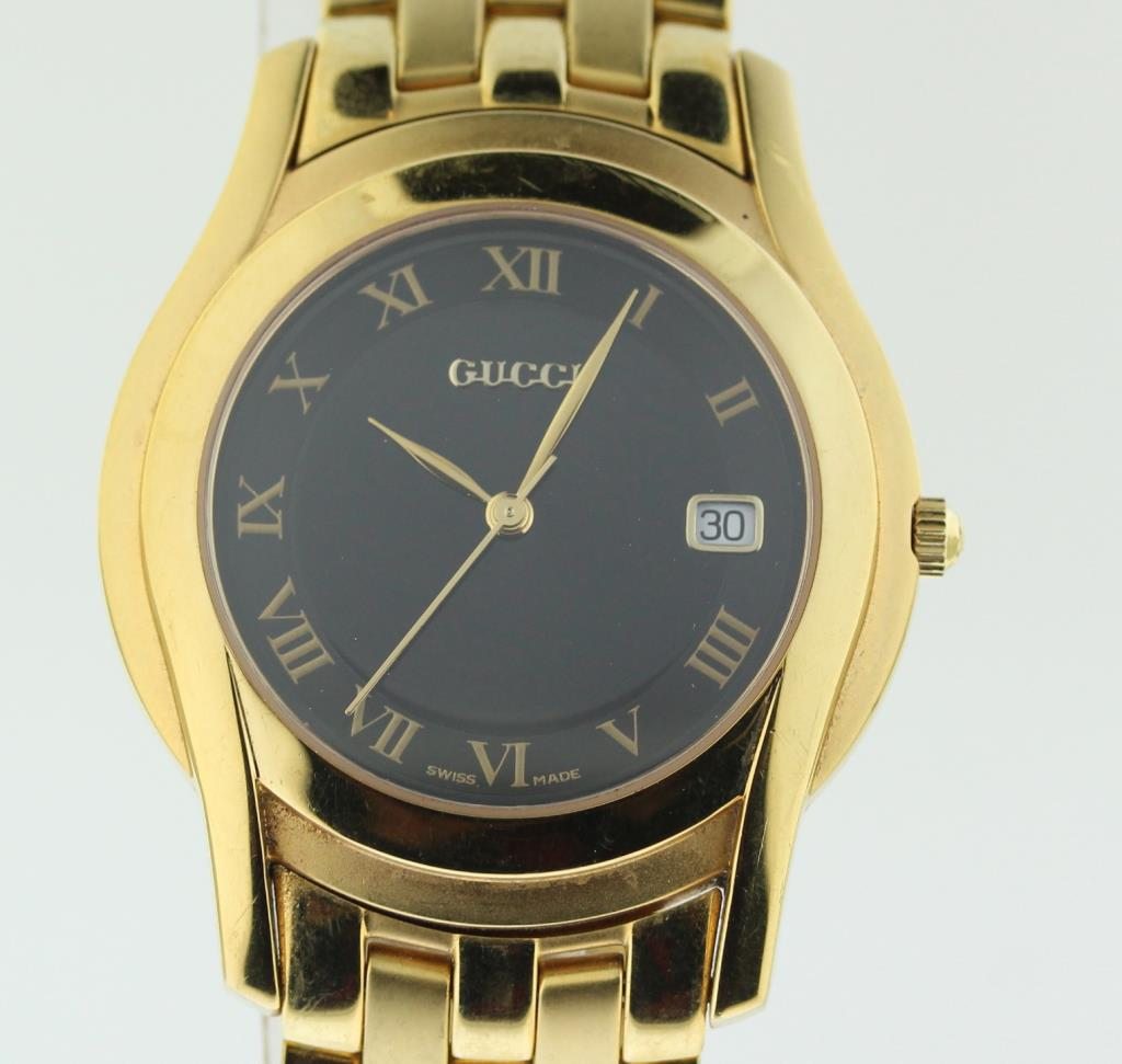 Men S Gucci 5400m Watch Evaluated By Independent Specialist Property Room