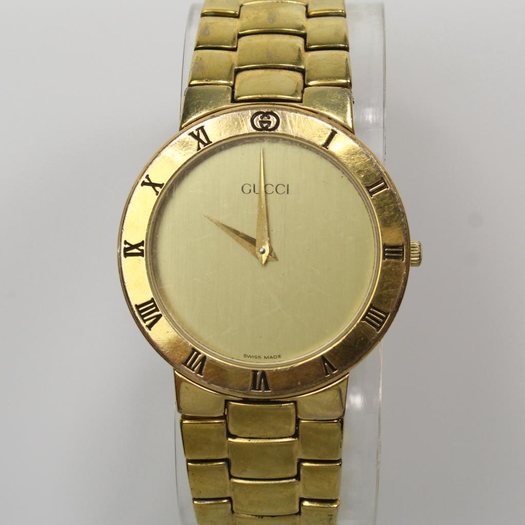 Men's Gucci Gold Plated Watch
