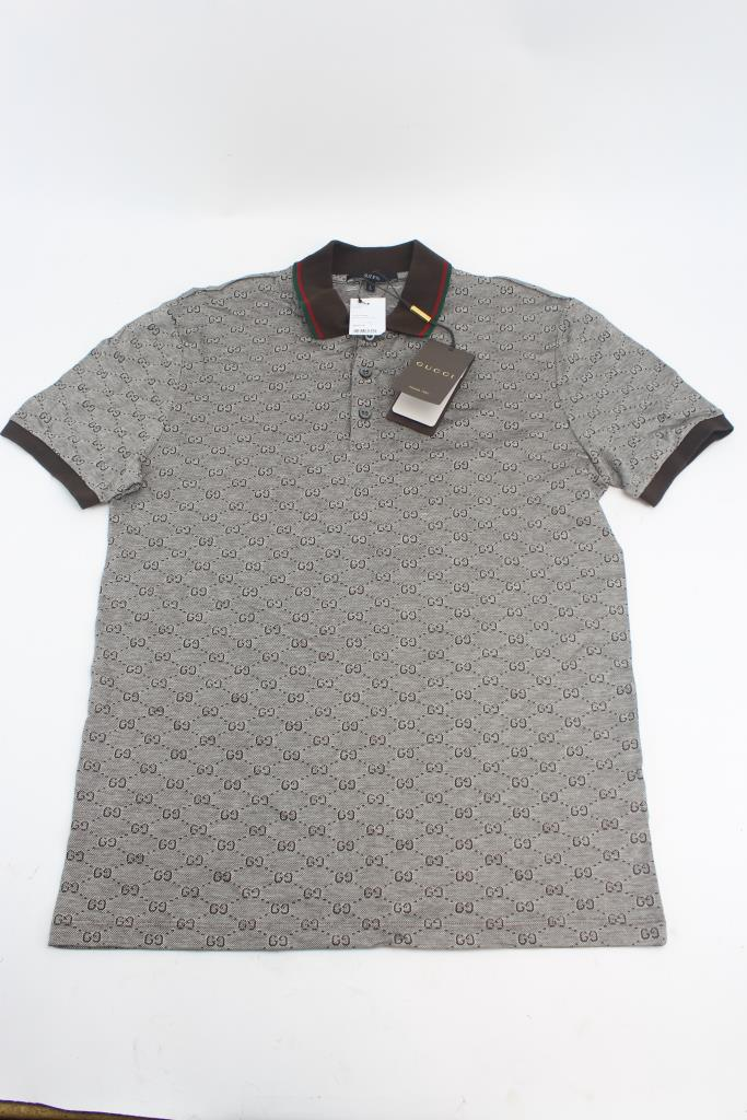 5cee697f5 Men's Gucci Polo Shirt; Size Large | Property Room