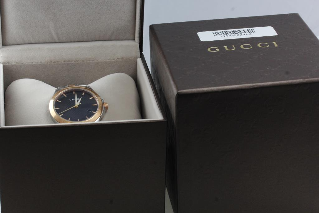 bc353db97d3 Men s Gucci Timeless Watch - New In Box - Evaluated By Independent  Specialist