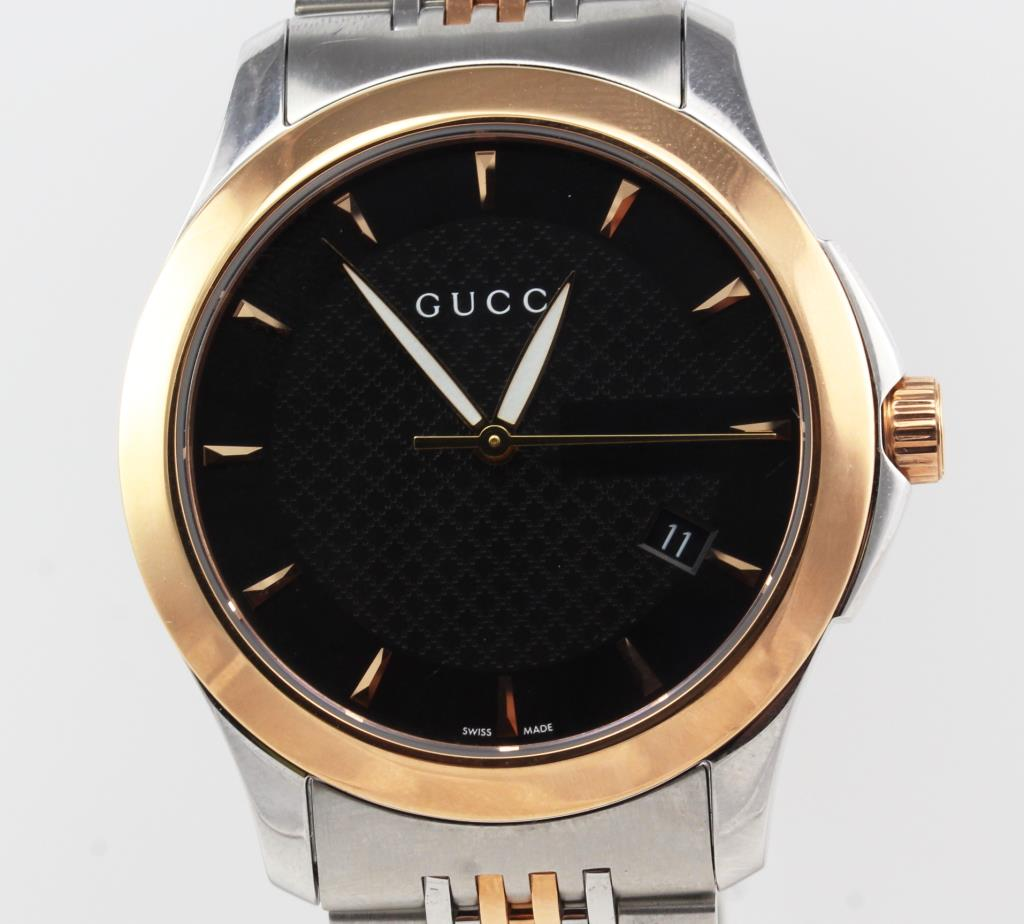 cba0df3d6ce Image 1 of 5. Men s Gucci Timeless Watch - New In Box - Evaluated By Independent  Specialist