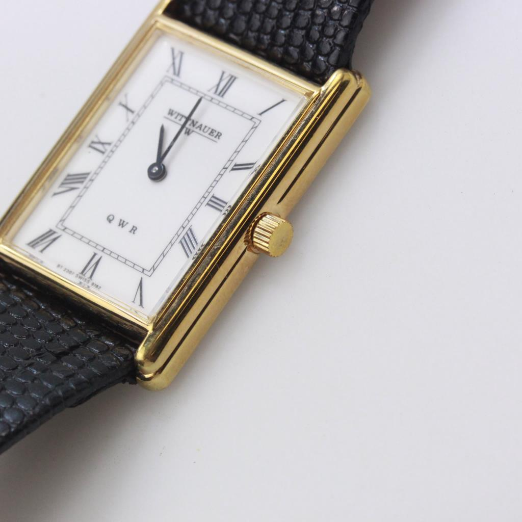Men S Longine S Wittnauer Qwr Gold Plated Men S Watch