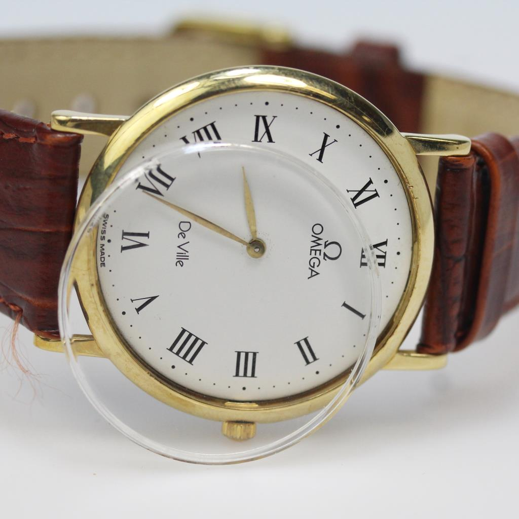 Men S Omega Deville Ultra Thin Dress Watch Evaluated By