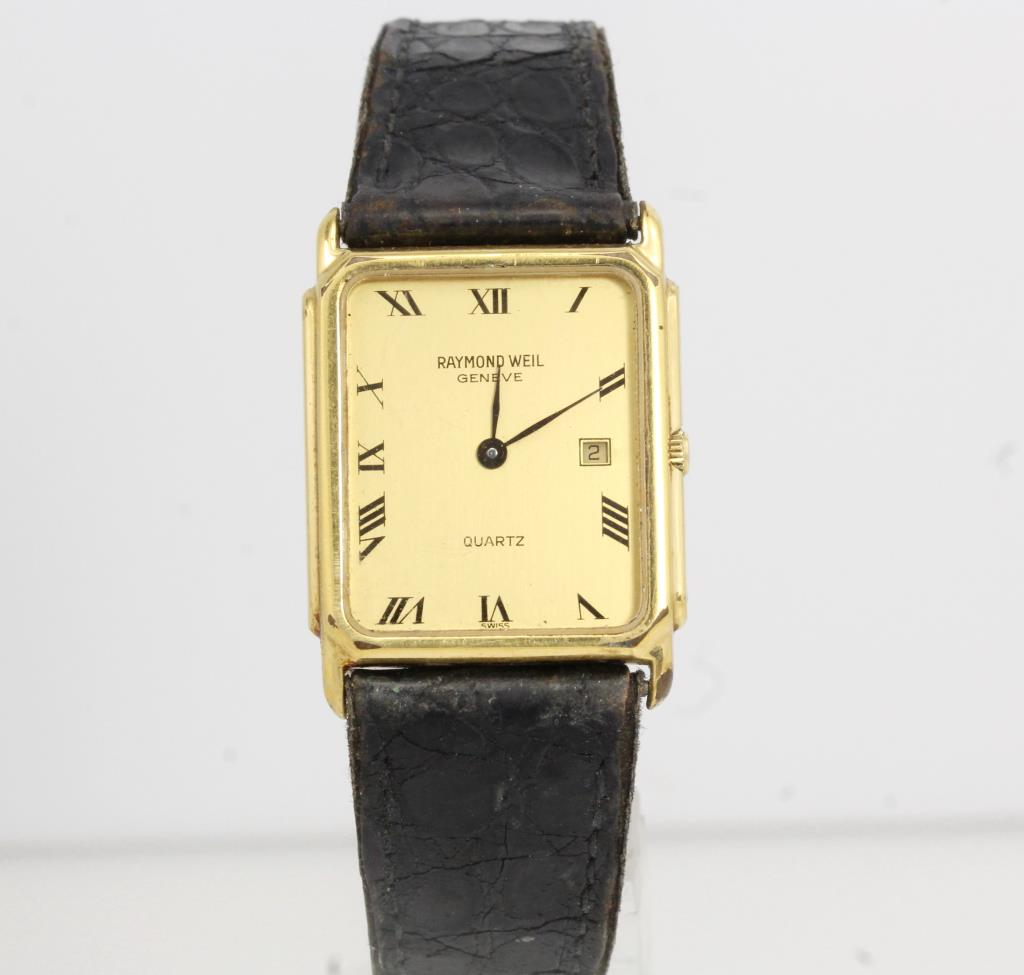 Men 39 s raymond weil 5600 watch evaluated by independent specialist property room for Raymond watches