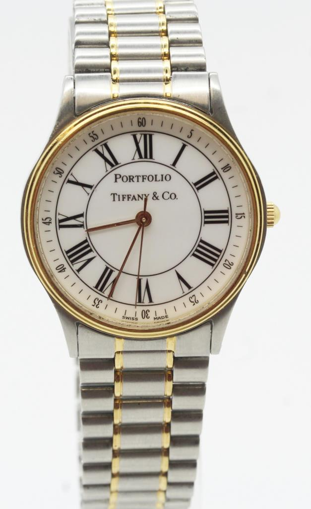 Men S Tiffany Amp Co Portfolio Watch Evaluated By