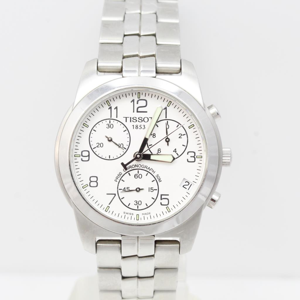 Men S Tissot Pr50 Chronograph Watch Evaluated By