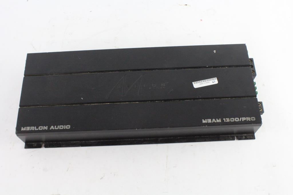 Merlon Audio Amplifier | Property Room