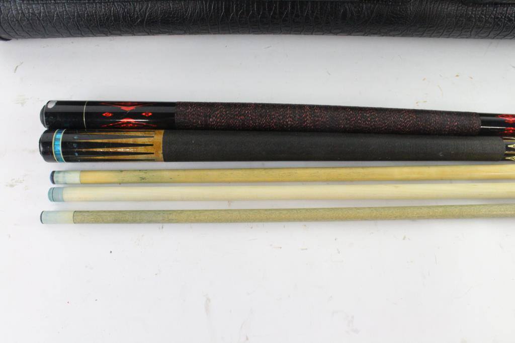 Meucci And Other Pool Cues, 3 Pieces | Property Room