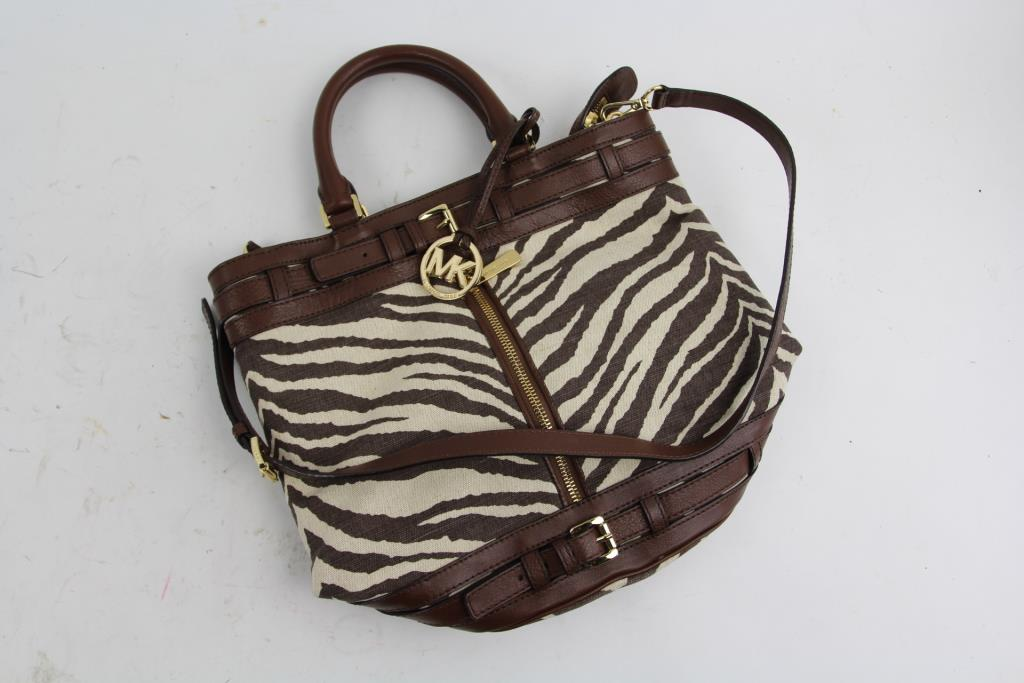 Michael Kors Zebra Print Handbag