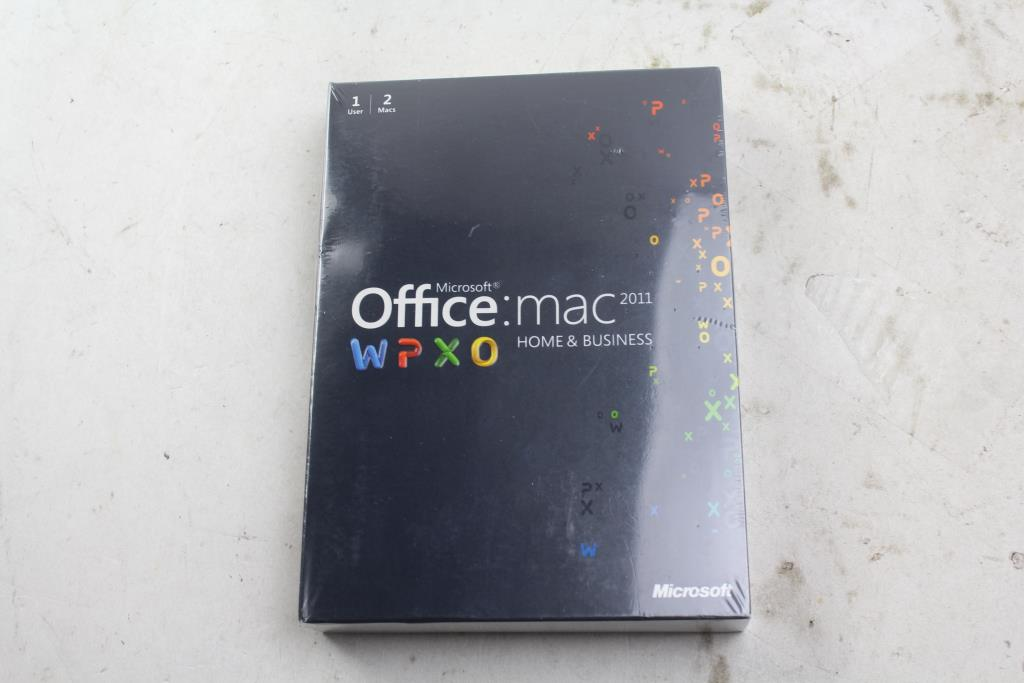 ms office 2011 home and business for mac
