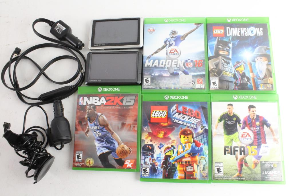 Microsoft Xbox One Games And More, 7 Pieces | Property Room