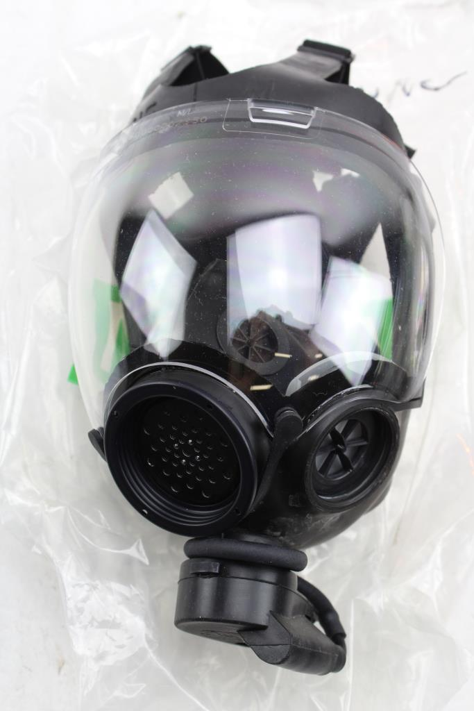 Millennium Msa Gas Mask P100 Respirator Property Room