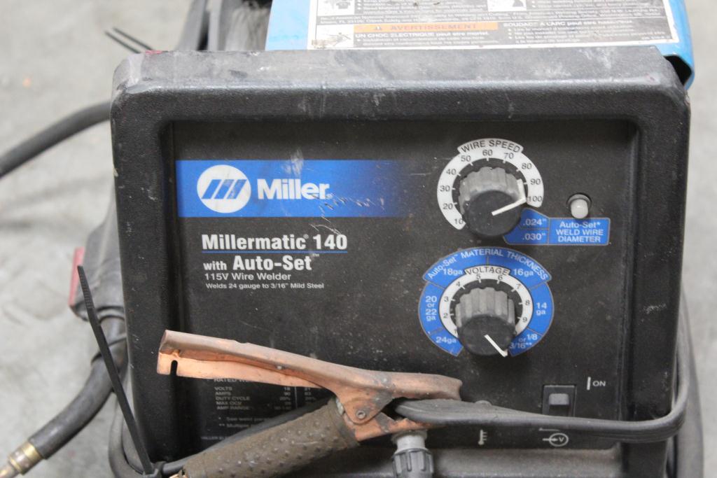 Miller Millermatic 140 Mig Welder