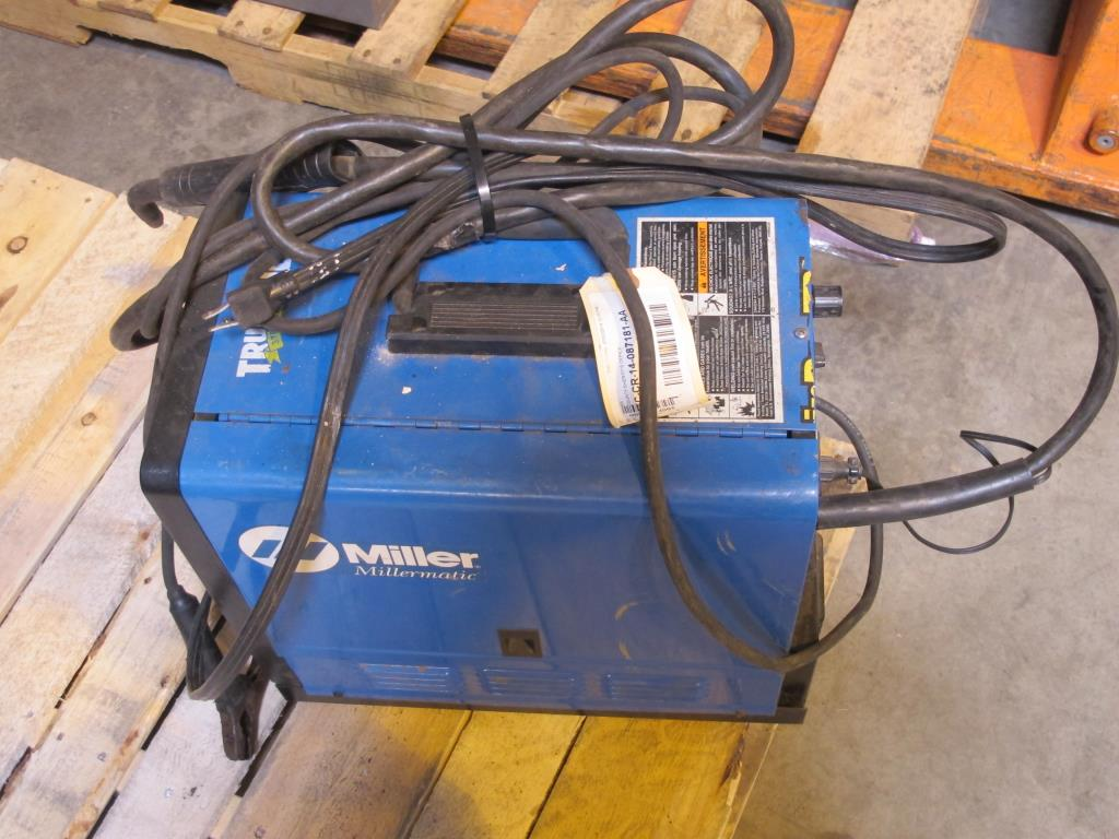 Miller Millermatic Wire Welder Property Room Wiring A