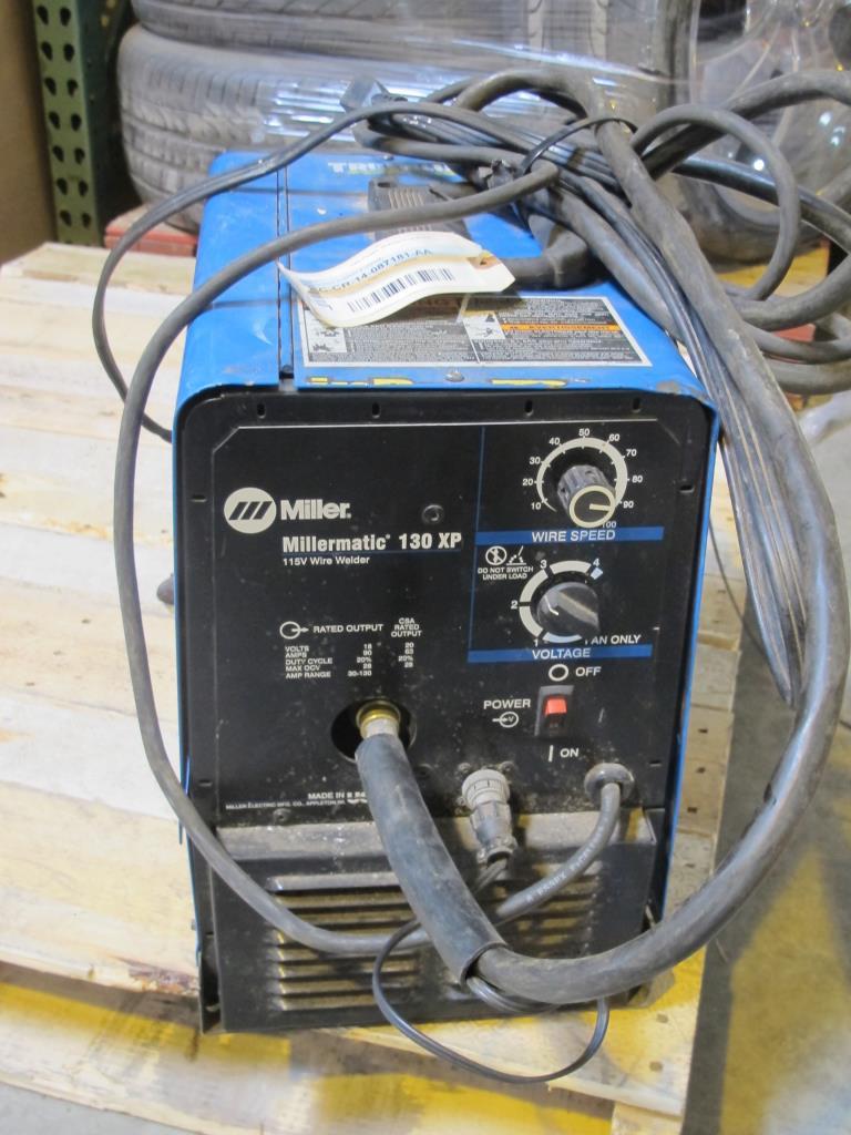Miller Millermatic Wire Welder Property Room Wiring A