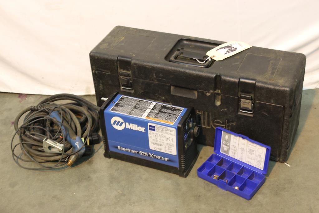 Miller Spectrum 625 >> Miller Spectrum 625 X Treme Plasma Cutting System With Case