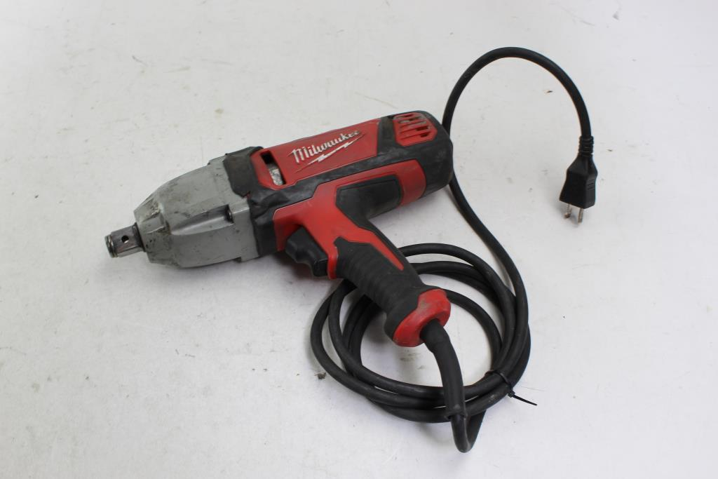Image 1 Of 3 Milwaukee 9075 20 Corded Heavy Duty Impact Wrench