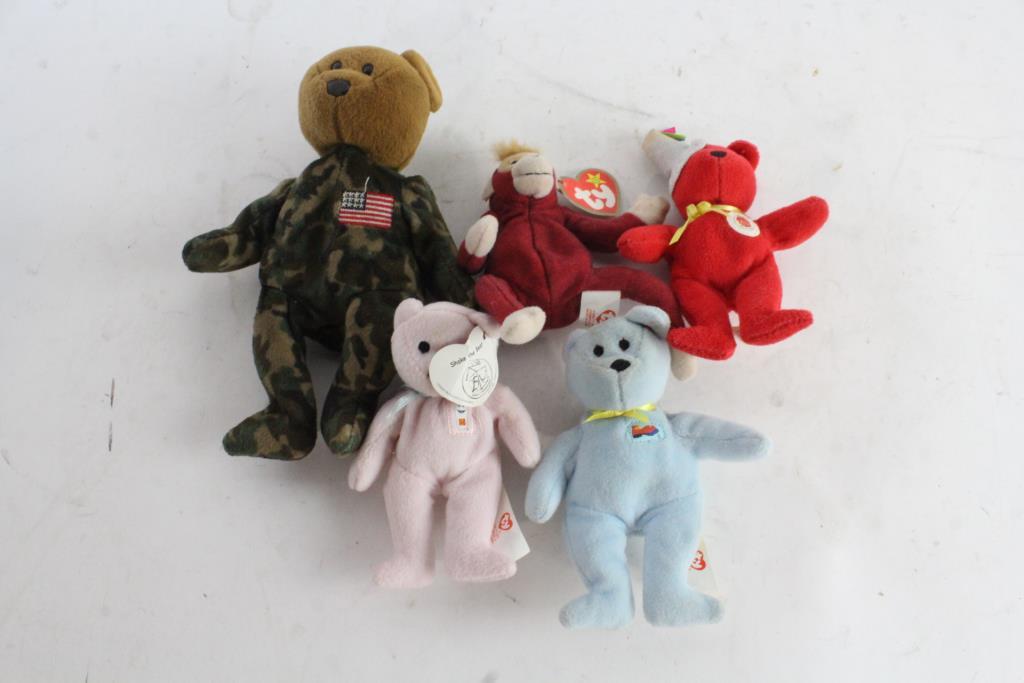 Image 1 of 2. Mini TY Beanie Babies 15076e0625ec