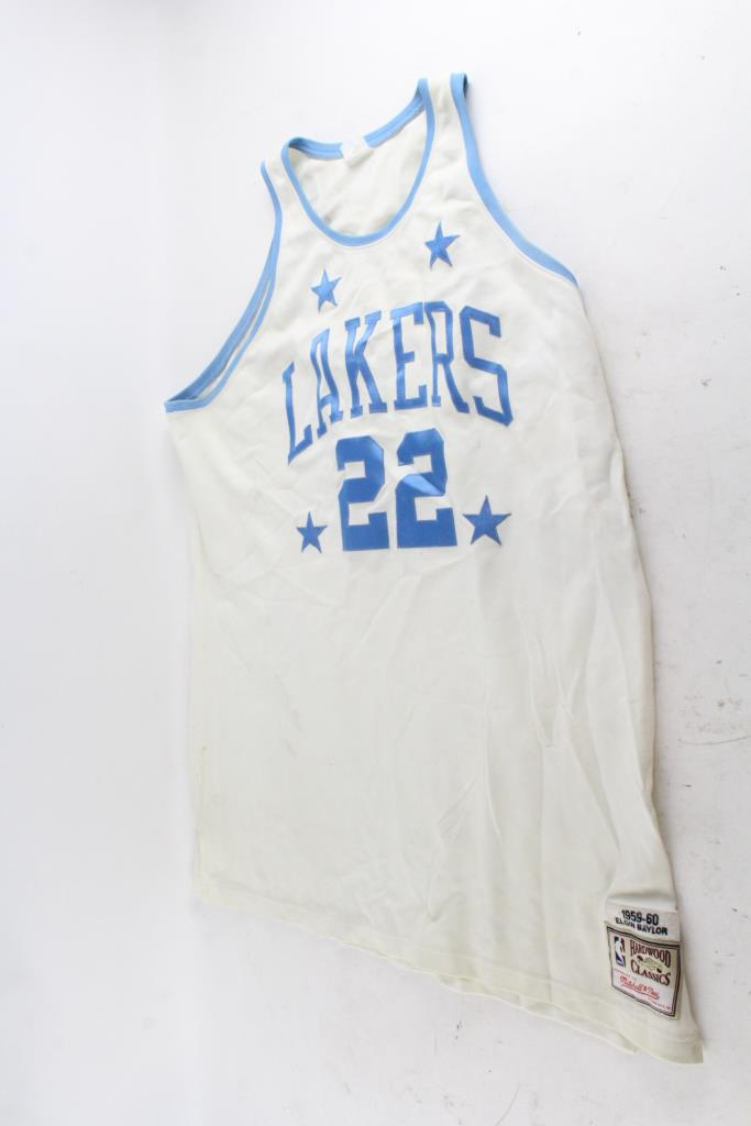 competitive price 452cf 3214d Mitchell & Ness Hardwood Classics Los Angeles Lakers Jersey ...