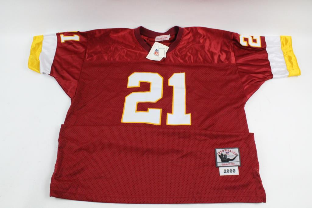 the best attitude f67ab 0b767 Mitchell & Ness NFL Washington Redskins Throwback Jersey ...