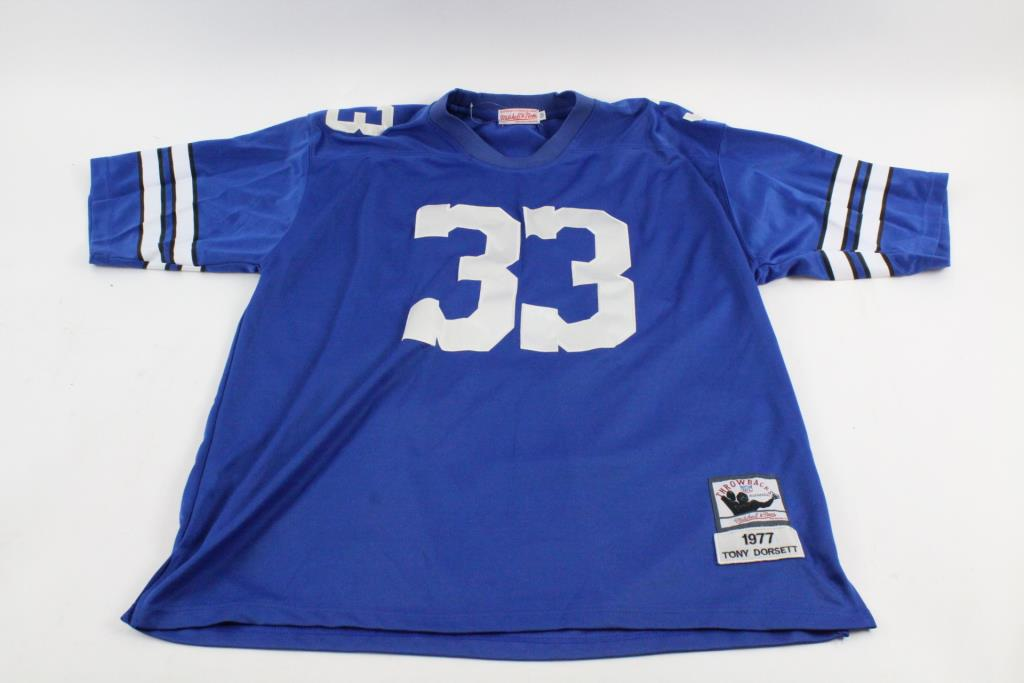 reputable site 01a7f 9e9d3 Mitchell & Ness Tony Dorsett Throwback Jersey, Size 56 ...