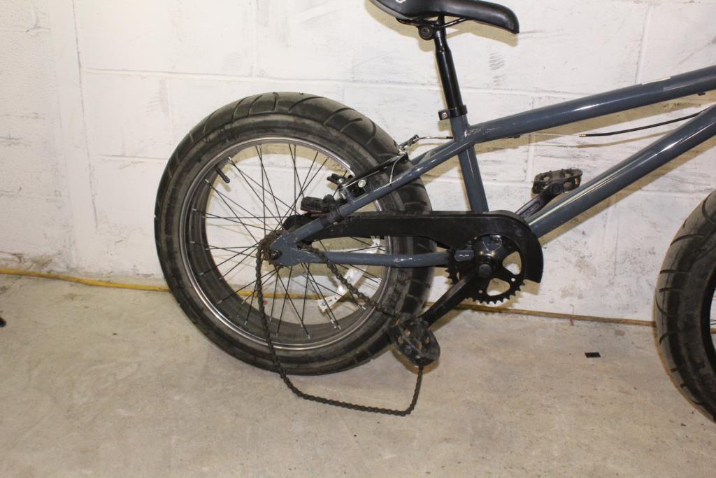 Upten Wheel 16 Inch Children Bike Bmx Fat Tire Kids Bicycle