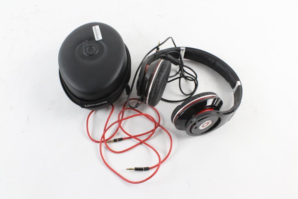 monster beats by dre studio headphones property room