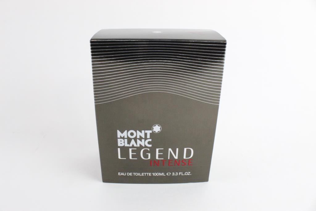 Mont Blanc Legend Intense, Eau De Toilette, 3.3 Fl Oz.