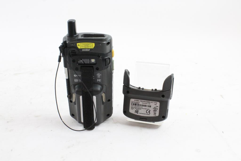 Motorola Wireless Handheld Barcode Scanner Property Room
