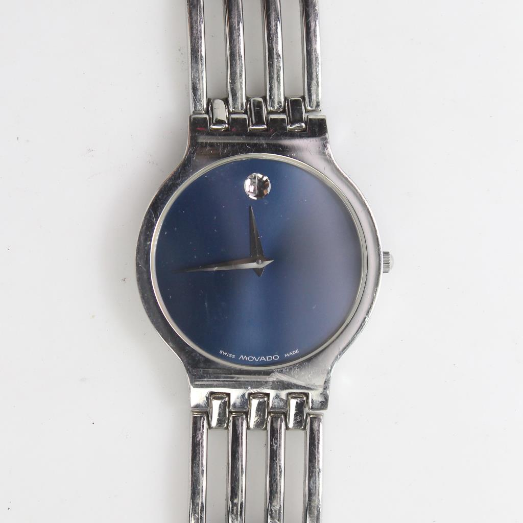 Movado Museum Dial Watch Property Room