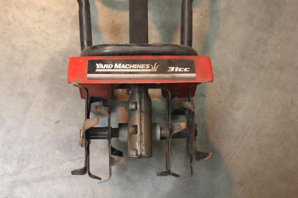 Mtd Yard Machines 31cc Gas Tiller Cultivator Property Room