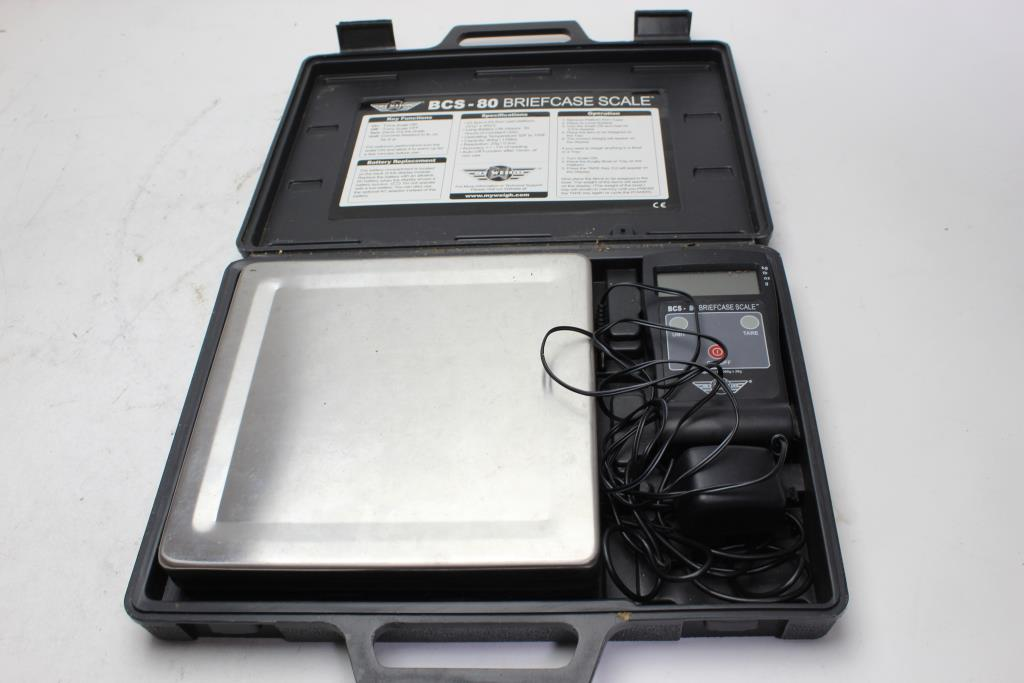 64c0d64c4ce7 My Weigh Briefcase Scale | Property Room