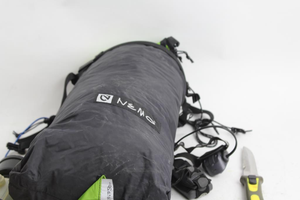 An image relevant to this listing An image relevant to this listing ... & Nemo Meta 2P Tent Petzl Headlamp And More | Property Room