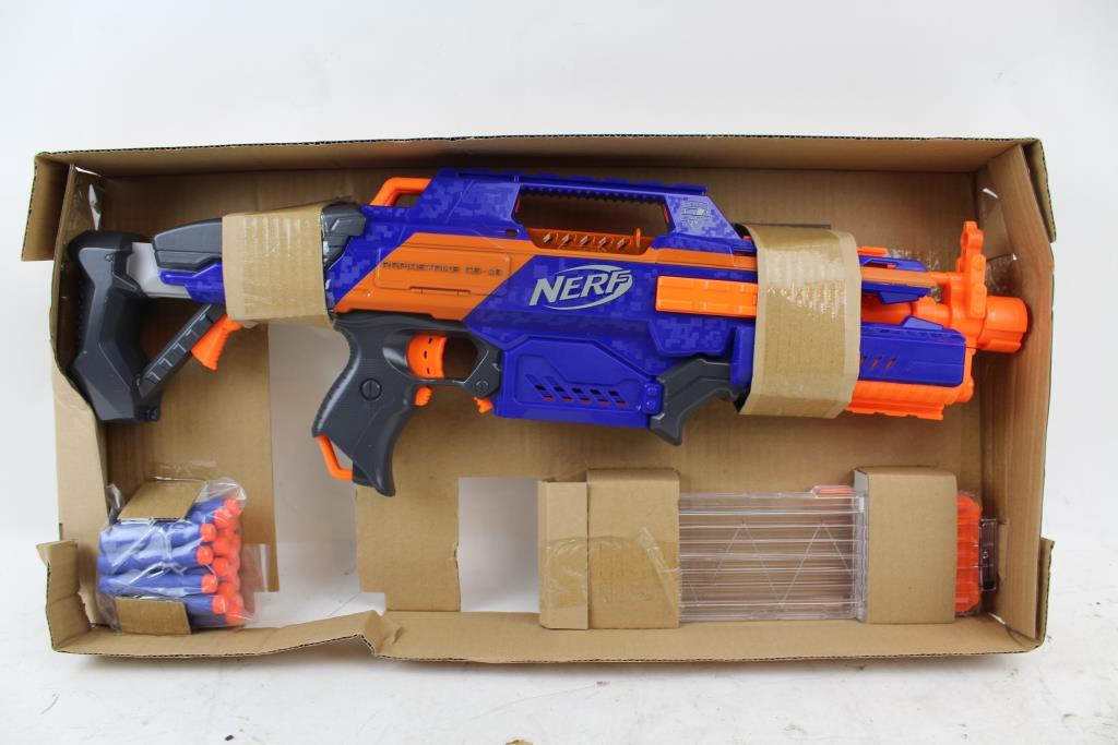Nerf Rapidstrike Cs 18 Gun Property Room