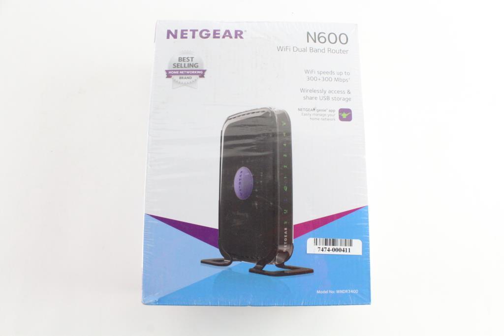 Netgear N600 WiFi Dual Band Router | Property Room