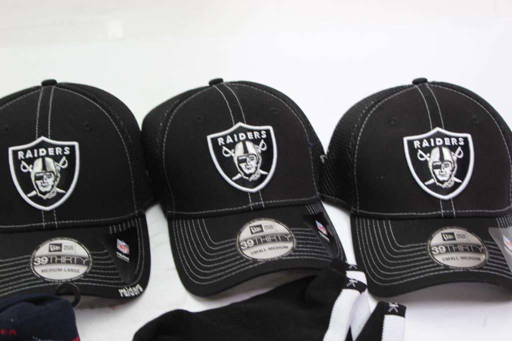 ad1e54a5 New Era Raiders Caps, Tommy Hilfiger Socks And More   Property Room