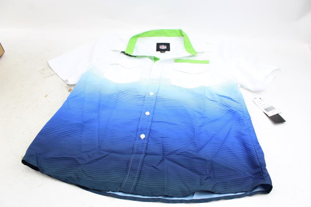 12ec08458 NFL Seattle Seahawks Button Up Shirt