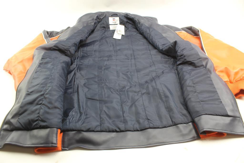 86810b03a NFL Sports Broncos Leather Jacket