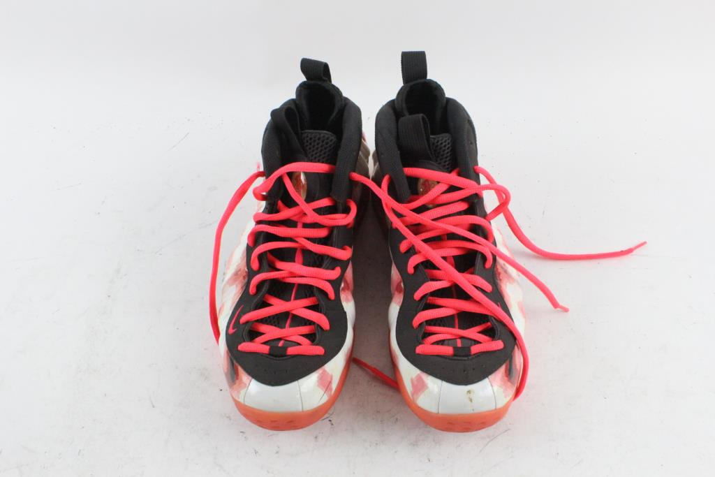 newest 3de18 391f9 Nike Air Foamposite One PRM Thermal Map Basketball Shoe, Mens Size 11
